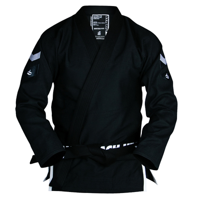 Hyperlyte    2.5  Female Slim Cut BJJ Gi White on Black
