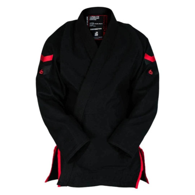 Hyperlyte     2.0  BJJ Gi Black w/ Red