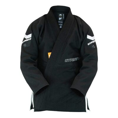 Hyperfly JudoFly-X Special Athletes Edition BJJ Gi Black/Orange