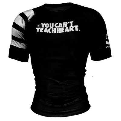 Hyperfly YCTH.  Rank Rash     Guard - Black Short Sleeve